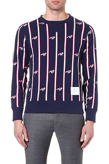 THOM BROWNE Fox-print sweatshirt