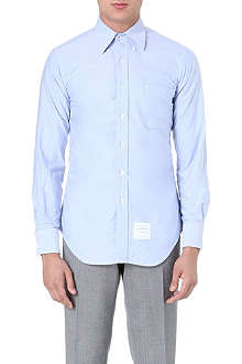 THOM BROWNE Fitted cotton shirt
