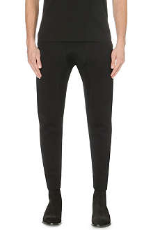 NEIL BARRETT Panelled neoprene jogging bottoms