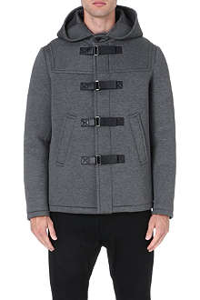 NEIL BARRETT Waterproof neoprene duffle coat