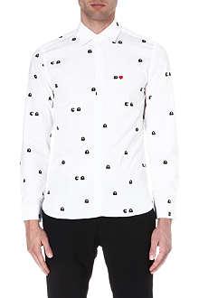 NEIL BARRETT Pacman-print shirt