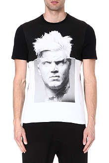 NEIL BARRETT Punk Statue t-shirt