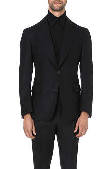 CERRUTI Single-breasted wool jacket