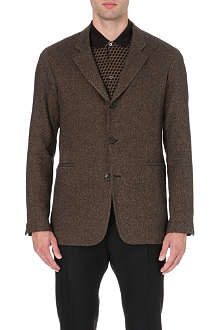 CERRUTI Cashmere and silk-blend jacket
