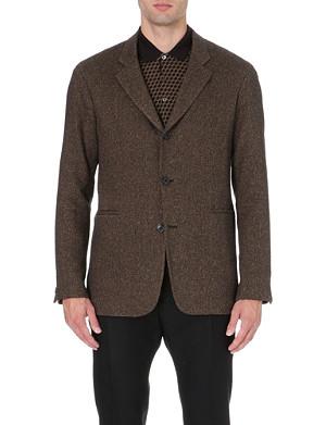 CERRUTI 1881 PARIS Cashmere and silk-blend jacket