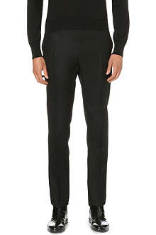 CERRUTI Nino slim-fit wool trousers