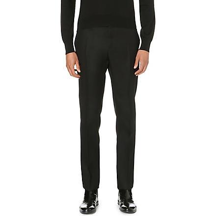 CERRUTI 1881 PARIS Nino slim-fit wool trousers (Black