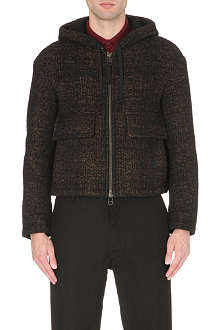 CERRUTI Hooded blouson jacket