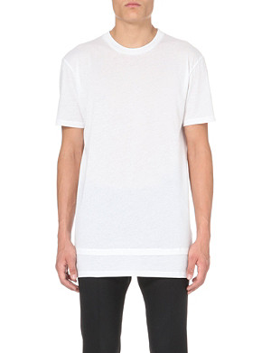 CASELY-HAYFORD Double-hem cotton-jersey t-shirt
