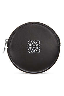 LOEWE Round leather coin purse