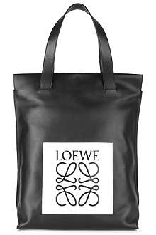 LOEWE Leather shopper bag