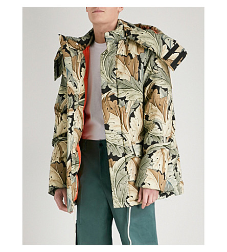 LOEWE Loewe x William Morris Acanthus-print cotton parka jacket (Multicolour