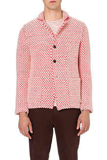 TOMORROWLAND Houndstooth wool jacket