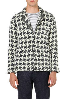 TOMORROWLAND Dogtooth wool cardigan