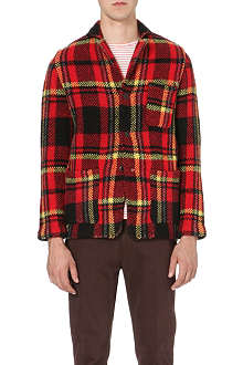 TOMORROWLAND Tartan wool jacket