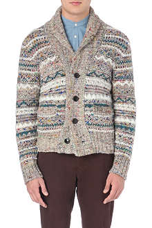 TOMORROWLAND Multicoloured shawl-collar cardigan
