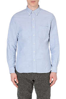 BEAMS PLUS Oxford regular-fit cotton shirt