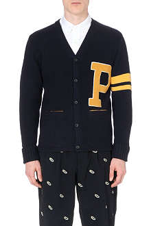 BEAMS PLUS Letterman knitted cardigan