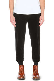 BEAMS PLUS Cinch-back corduroy trousers