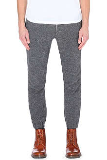 BEAMS PLUS Drawstring tapered jersey jogging bottoms