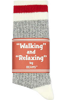 BEAMS PLUS Walking and Relaxing socks