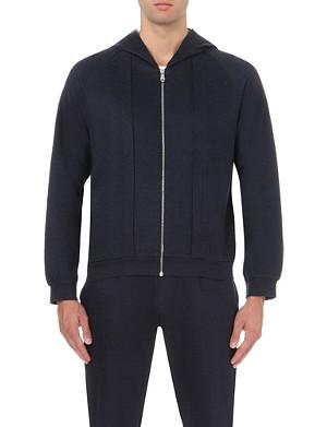 LA PERLA Long-sleeved jersey hoody