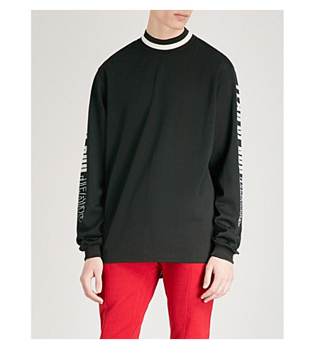 FEAR OF GOD Motocross mesh top (Black