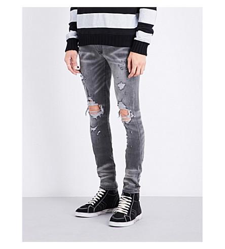 AMIRI Thrasher slim-fit skinny jeans (Grey