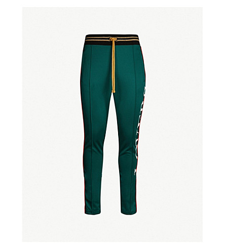AMIRI Lovers jersey pants (Dark green