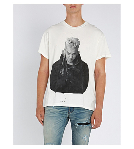 AMIRI 'The lost boys'-print cotton-jersey T-shirt (White