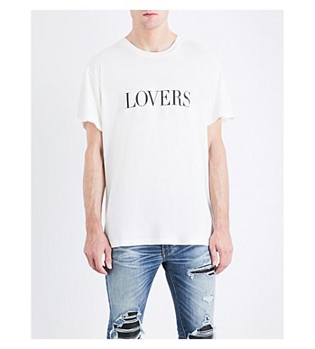 AMIRI Lovers cotton-jersey T-shirt (White