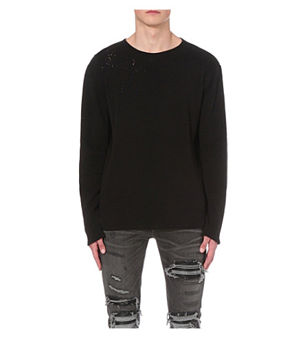 AMIRI Shotgun cotton-jersey t-shirt (Black