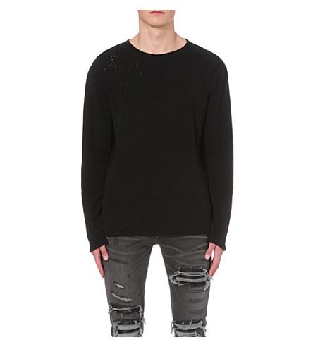 AMIRI Shotgun cotton-jersey t-shirt (Black
