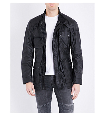 BELSTAFF Roadmaster waxed cotton jacket (Black