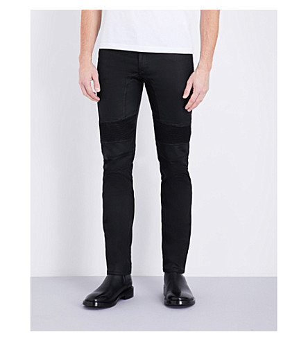 BELSTAFF Eastham slim-fit skinny jeans (Black