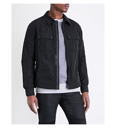 BELSTAFF Shawbury shell overcoat (Black