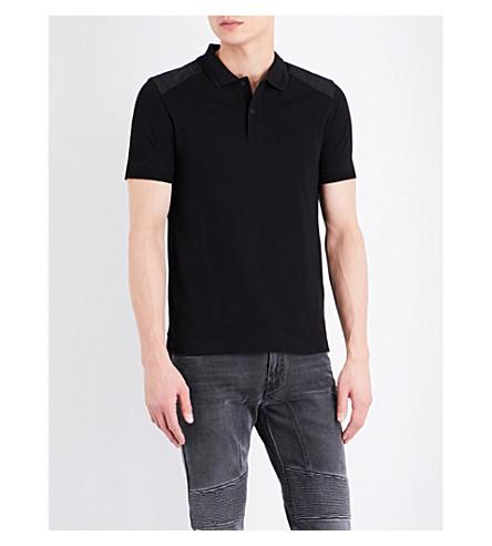 BELSTAFF Hitchin cotton-jersey polo shirt (Black