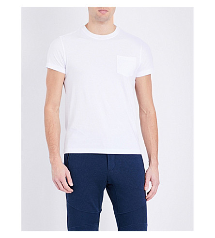 BELSTAFF Thom crewneck cotton-jersey T-shirt (White