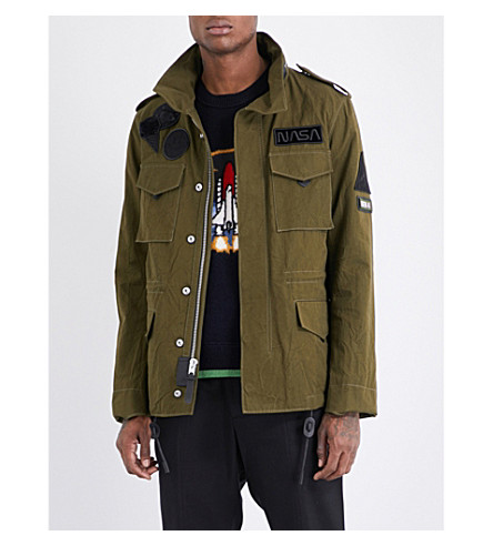 COACH M65 cotton jacket (Military