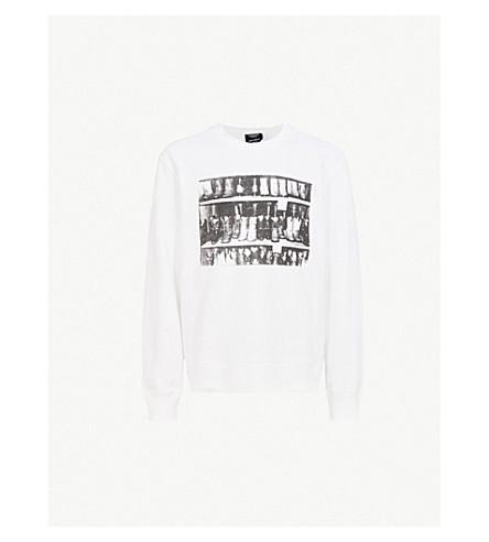 CALVIN KLEIN 205W39NYC Andy Warhol-print cotton-jersey sweatshirt (White