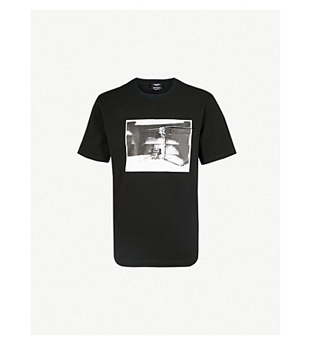 CALVIN KLEIN 205W39NYC Andy Warhol print cotton-jersey T-shirt (Black