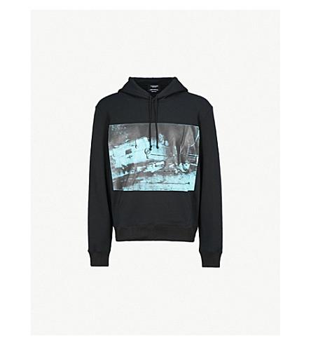 CALVIN KLEIN 205W39NYC Andy Warhol-print cotton-jersey hoody (Black