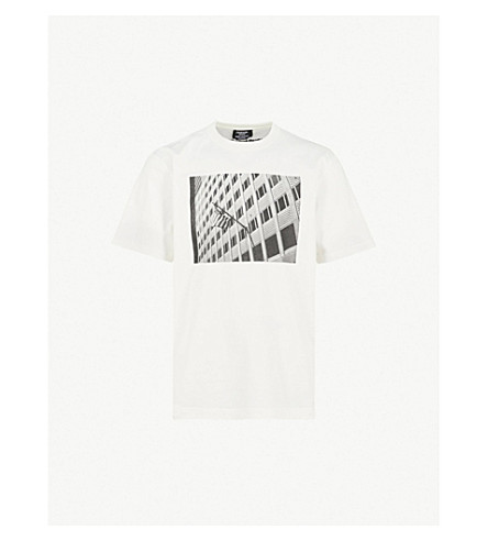 CALVIN KLEIN 205W39NYC Andy Warhol-print cotton-jersey T-shirt (White