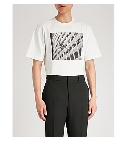 CALVIN KLEIN 205W39NYC Andy Warhol-print cotton-jersey T-shirt (White