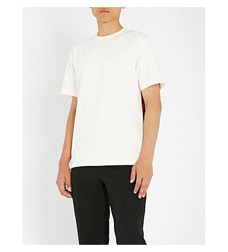 CALVIN con jersey estampado estrellas de KLEIN Blanca Camiseta 205W39NYC algodón de de CSa1Cg