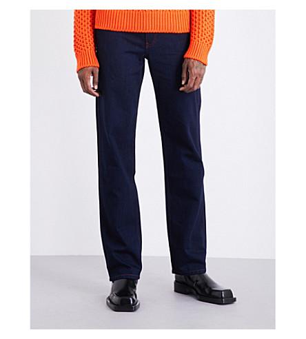CALVIN KLEIN 205W39NYC Regular-fit straight jeans (Indigo