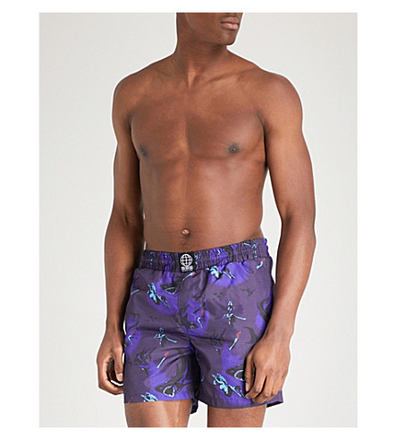 SSS WORLD CORP Awesome swim shorts (Blue