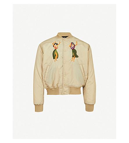 SSS WORLD CORP Cadillac shell bomber jacket (Safari