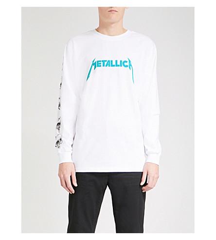 METALLICA Crash Course cotton-jersey top (White