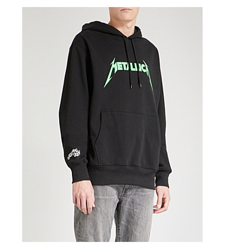 METALLICA Creep cotton-jersey hoody (Black